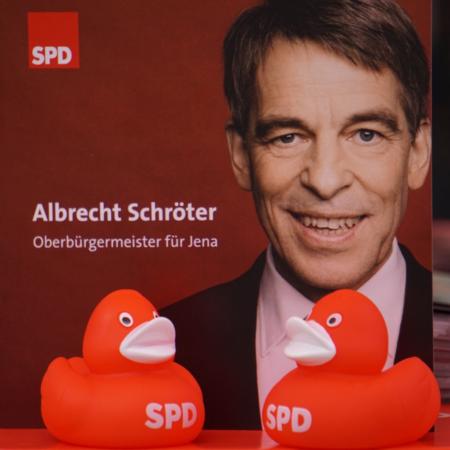 SPD Jena Albrecht Schröter Enten